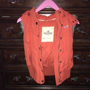 ☆ Hollister ☆ Vest w/ removable hood